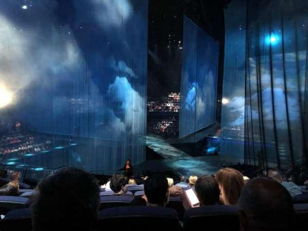 Love Theatre - The Mirage, secção: 205, fila: T, lugar: 10