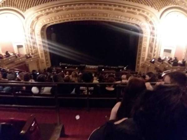 tivoli theatre, secção: Uppbalc care rht, fila: K, lugar: 102