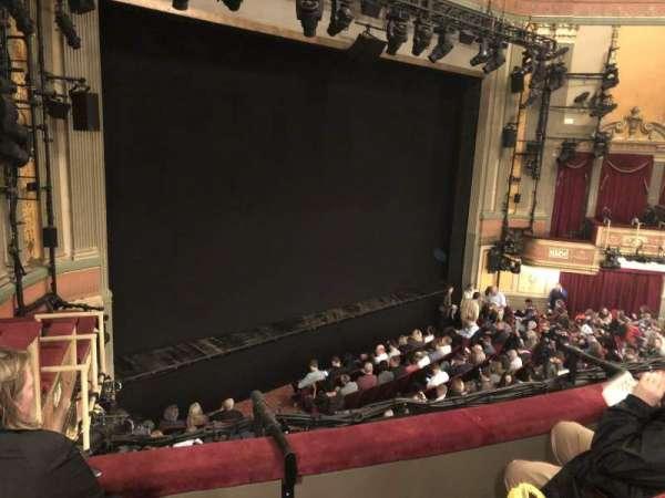 Neil Simon Theatre, secção: Front Mezzanine L, fila: C, lugar: 11