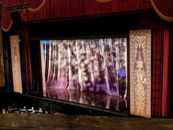 Fox Theatre (Detroit), secção: M6, fila: AA, lugar: 609