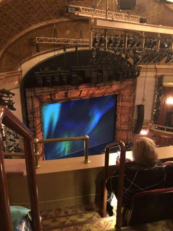 St. James Theatre, secção: Mezzanine L, fila: B, lugar: 31