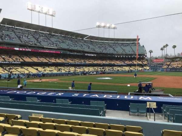 Dodger Stadium, secção: 22FD, fila: H, lugar: 8