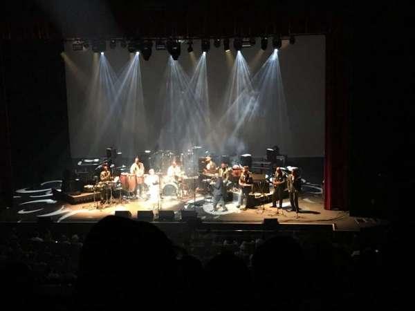 Durham Performing Arts Center, secção: Grand Tier, fila: G, lugar: 106