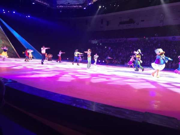 Pechanga Arena, secção: FR23, fila: A, lugar: 12