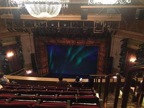 St. James Theatre, secção: BALCONY C, fila: G, lugar: 101