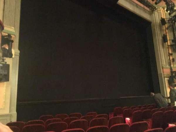 Neil Simon Theatre, secção: Orchestra L, fila: G, lugar: 13