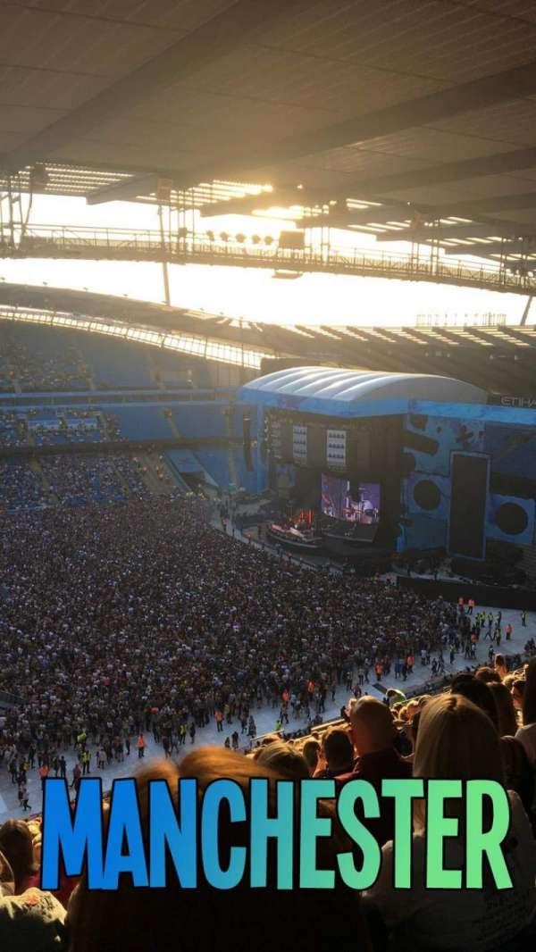 Etihad Stadium (Manchester), secção: 306, fila: BB, lugar: 178