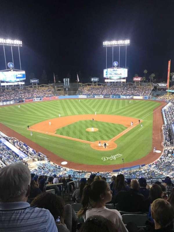 Dodger Stadium, secção: 3RS, fila: N, lugar: 22