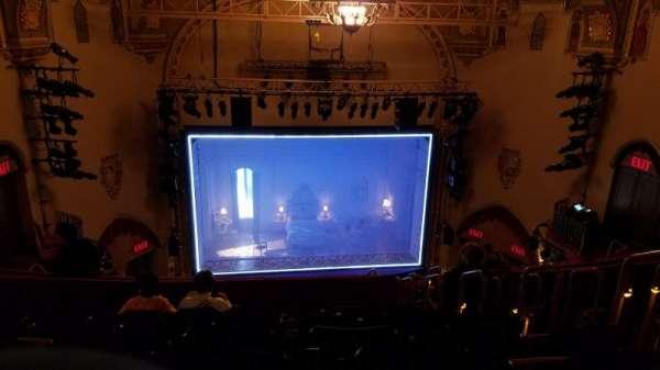 John Golden Theatre, secção: Rear Mezzanine, fila: G, lugar: 107