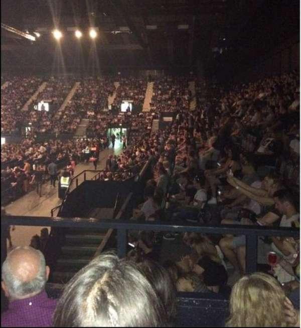 SSE Arena, Wembley, secção: S15, fila: l, lugar: 188