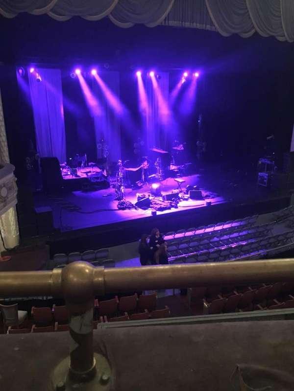 Merriam Theater, secção: Balcony, fila: A, lugar: 17