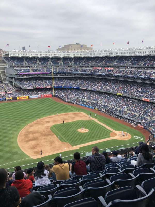 Yankee Stadium, secção: 426, fila: 8, lugar: 14