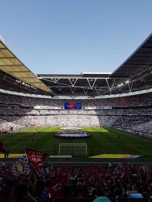 Wembley Stadium, secção: 133, fila: 35, lugar: 319