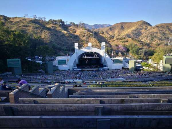 Hollywood Bowl, secção: S, fila: 10, lugar: 121