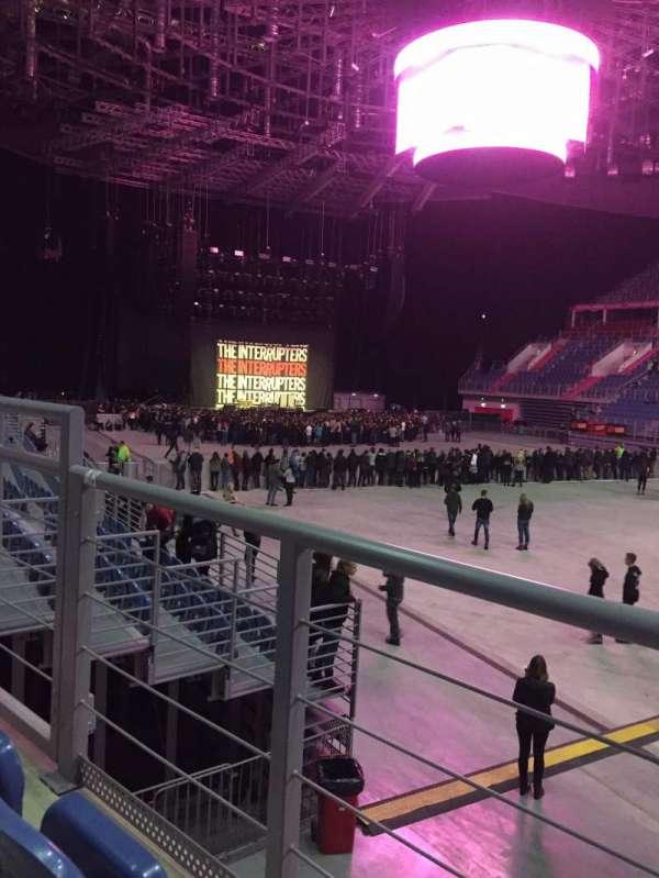 Tauron Arena Krakow, secção: A08, fila: 2, lugar: 12