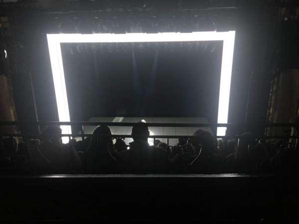 Lunt-Fontanne Theatre, secção: Second Mezzanine, fila: A, lugar: 106
