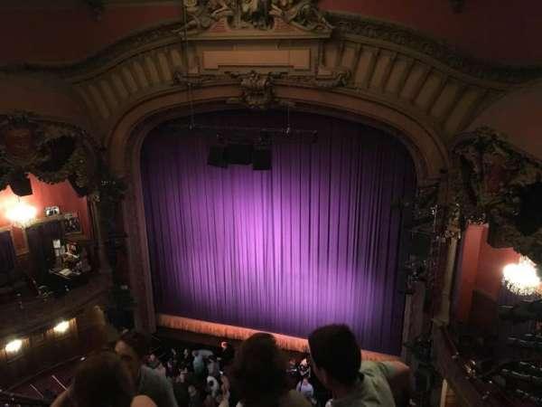 Lyceum Theatre (Broadway), secção: Balcony R, fila: D, lugar: 6