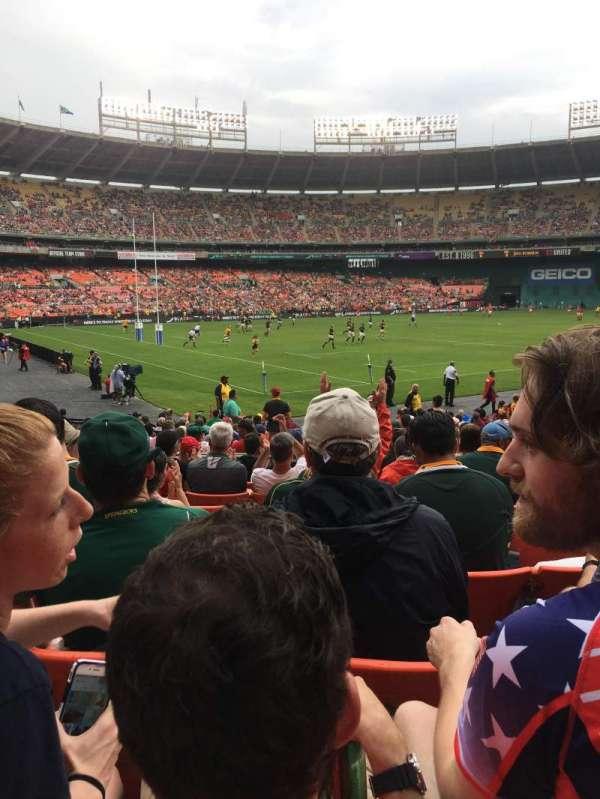 RFK Stadium, secção: 213, fila: 8, lugar: 13