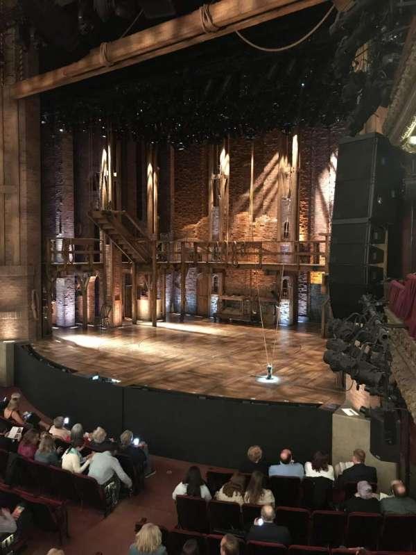 CIBC Theatre, secção: Dress Circle Box 2, lugar: 204