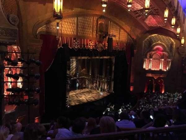 Fox Theatre (Atlanta), secção: Dress Circle Left C, fila: A, lugar: 53