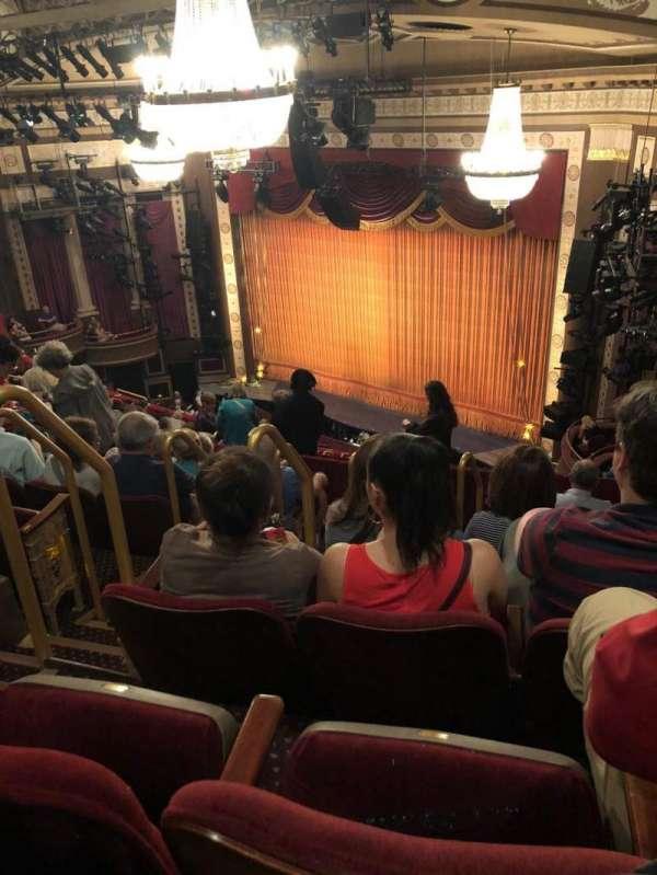 Imperial Theatre, secção: Rear Mezzanine 1, fila: G, lugar: 4