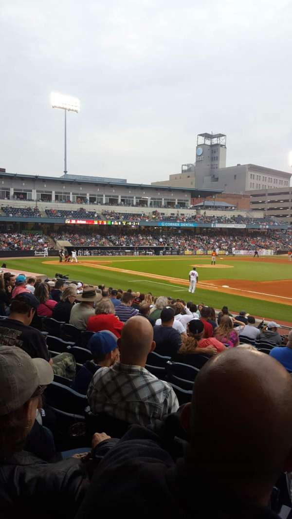 Fifth Third Field, secção: 117, fila: R, lugar: 11