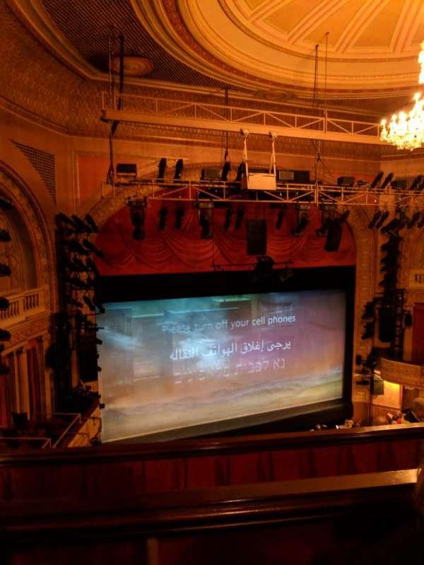 Ethel Barrymore Theatre, secção: Rear Mezzanine L, fila: B, lugar: 15