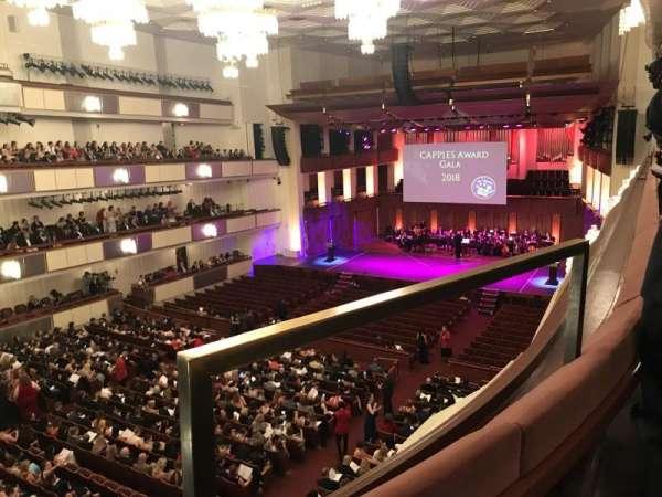 The Kennedy Center Concert Hall, secção: Tier 1, fila: A, lugar: 32