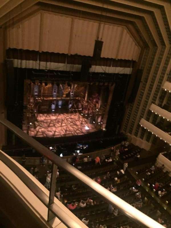 Reynolds Hall at The Smith Center, secção: Balcony, fila: 101