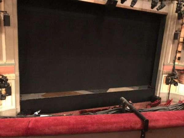 Neil Simon Theatre, secção: Front Mezzanine C, fila: B, lugar: 102