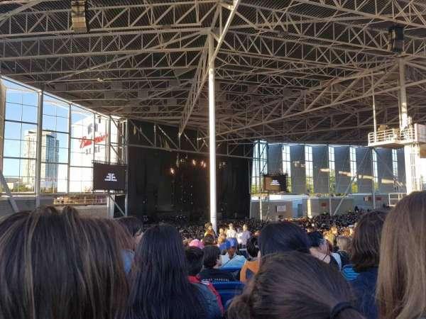 Budweiser Stage, secção: 409, fila: K, lugar: 7