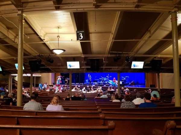 Ryman Auditorium, secção: MF 3, fila: Z