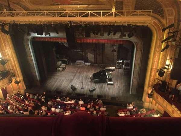 Walter Kerr Theatre, secção: Balcony Rght, fila: A, lugar: 14