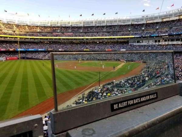 Yankee Stadium, secção: 232A, fila: 1, lugar: 1