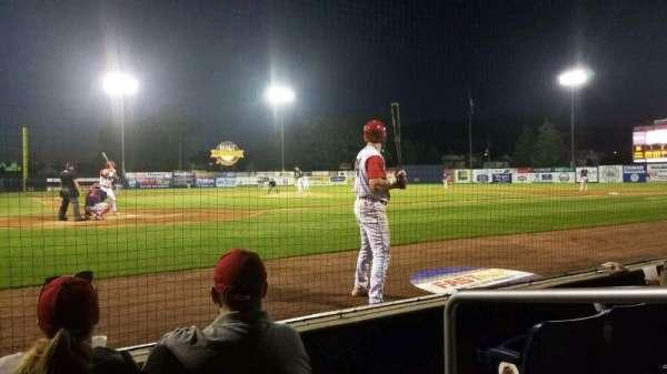 BB&T Ballpark at Historic Bowman Field, secção: F, fila: D, lugar: 2