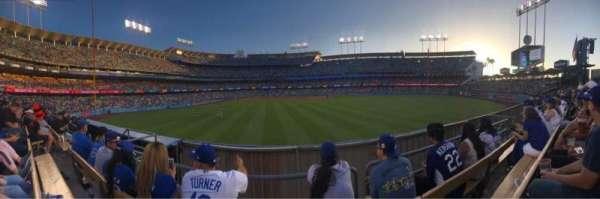 Dodger Stadium, secção: 308PL, fila: C, lugar: 7