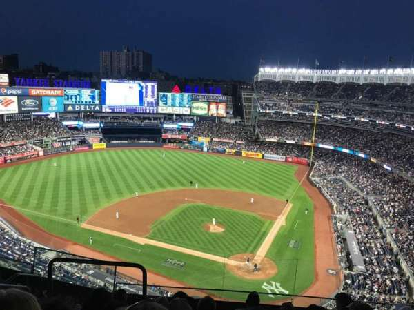 Yankee Stadium, secção: 421, fila: 6, lugar: 18