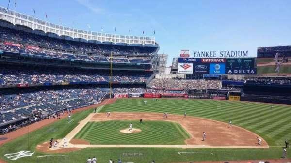 Yankee Stadium, secção: 217, fila: 14, lugar: 1