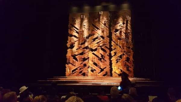 Hollywood Pantages Theatre, secção: Orchestra C, fila: F, lugar: 106