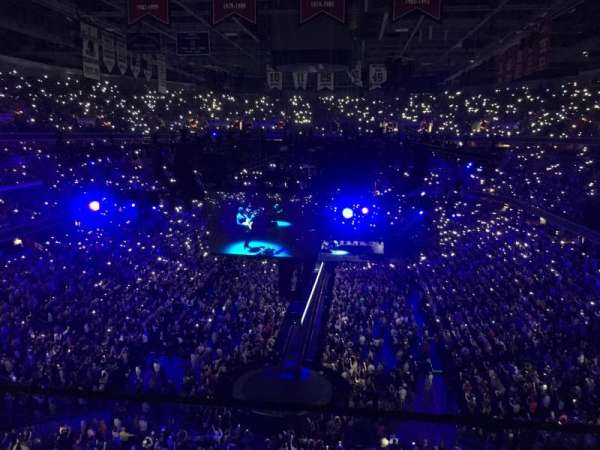 Capital One Arena, secção: 409, fila: A, lugar: 9