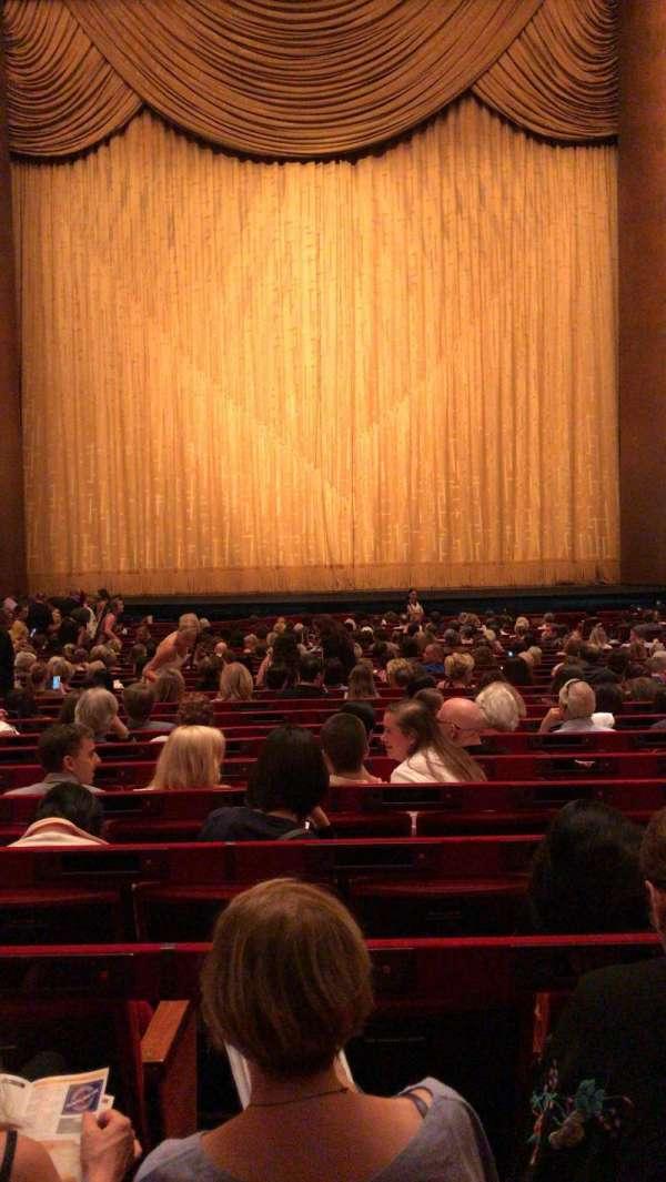 Metropolitan Opera House - Lincoln Center, secção: Orchestra, fila: Z, lugar: 110