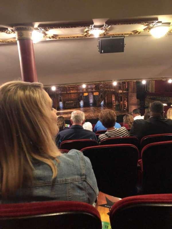 CIBC Theatre, secção: Dress Circle C, fila: G, lugar: 202