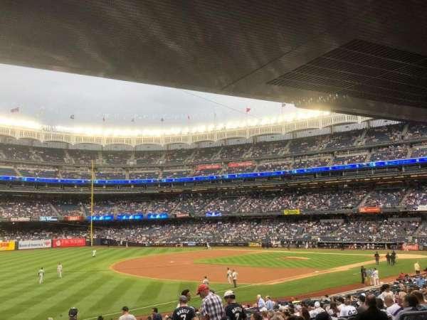 Yankee Stadium, secção: 129, fila: 29, lugar: 9