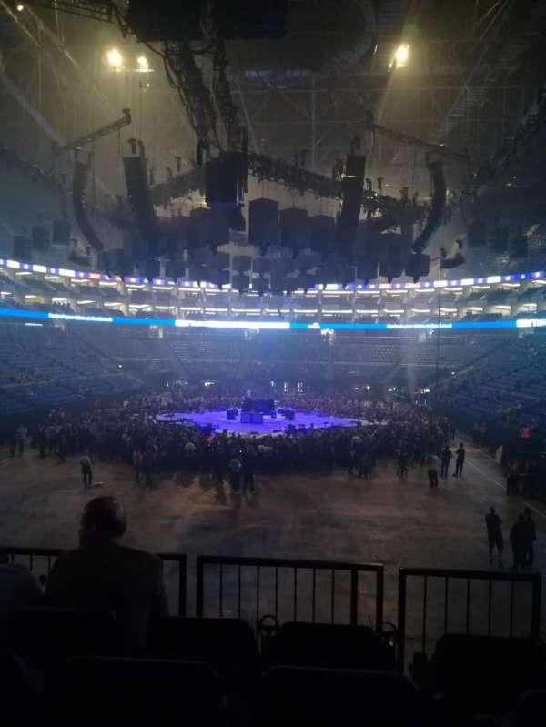 The O2 Arena, secção: 116, fila: R, lugar: 486