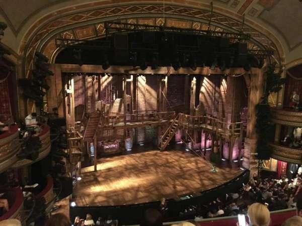 Richard Rodgers Theatre, secção: Front Mezzanine L, fila: D, lugar: 15