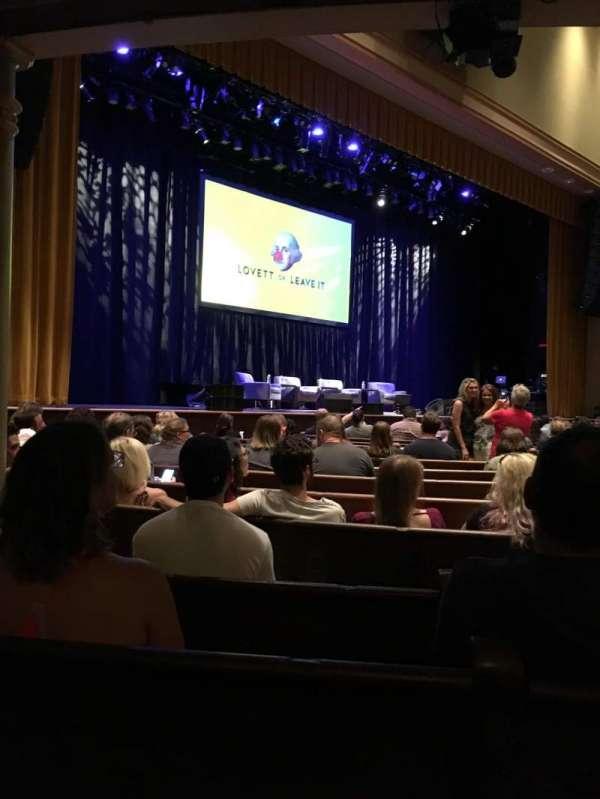 Ryman Auditorium, secção: MF7, fila: P, lugar: 6