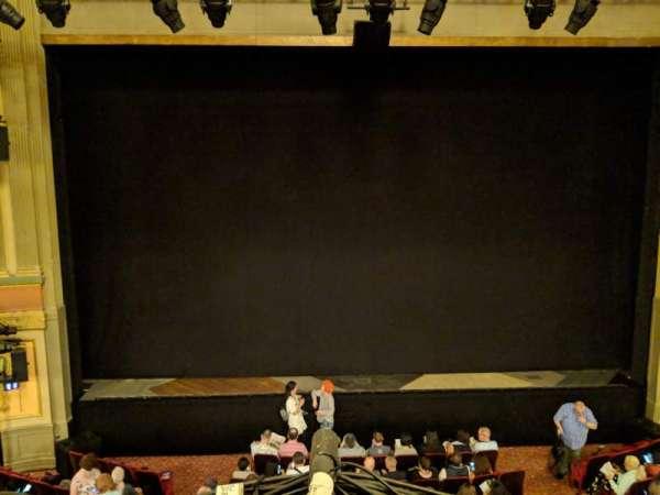 Neil Simon Theatre, secção: Front Mezzanine C, fila: A, lugar: 111