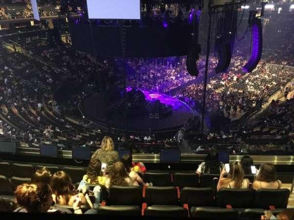 Madison Square Garden, secção: 219, fila: BS6, lugar: 18