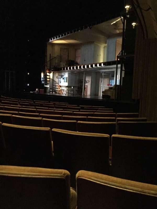 Ahmanson Theatre, secção: Orch, fila: H, lugar: 1
