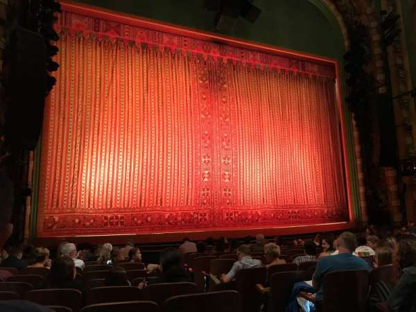 New Amsterdam Theatre, secção: Orchestra L, fila: L, lugar: 5